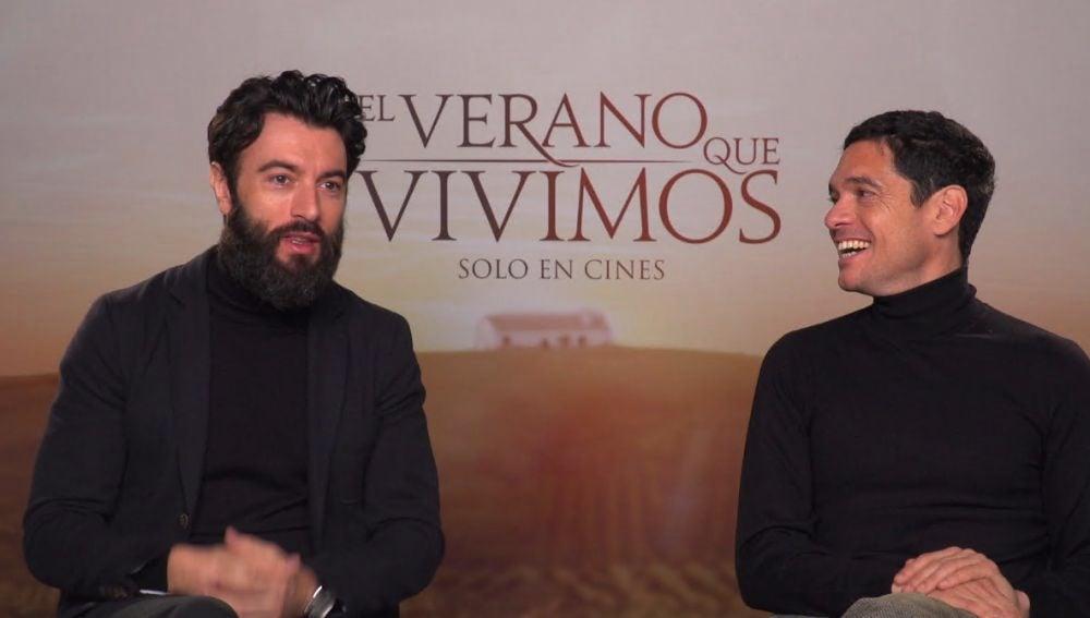 Javier Rey y Pablo Molinero
