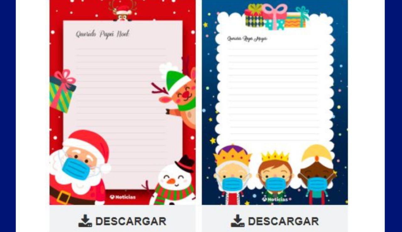 Cartas de Papá Noel y Reyes Magos