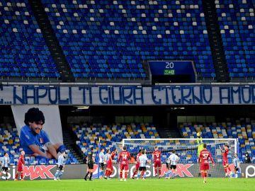 Ya es oficial: el estadio de San Paolo de Nápoles pasa a llamarse 'Diego Armando Maradona'