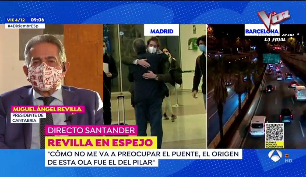 """Miguel Ángel Revilla: """"Va a morir mucha gente de coronavirus como consecuencia de la movilidad masiva"""""""