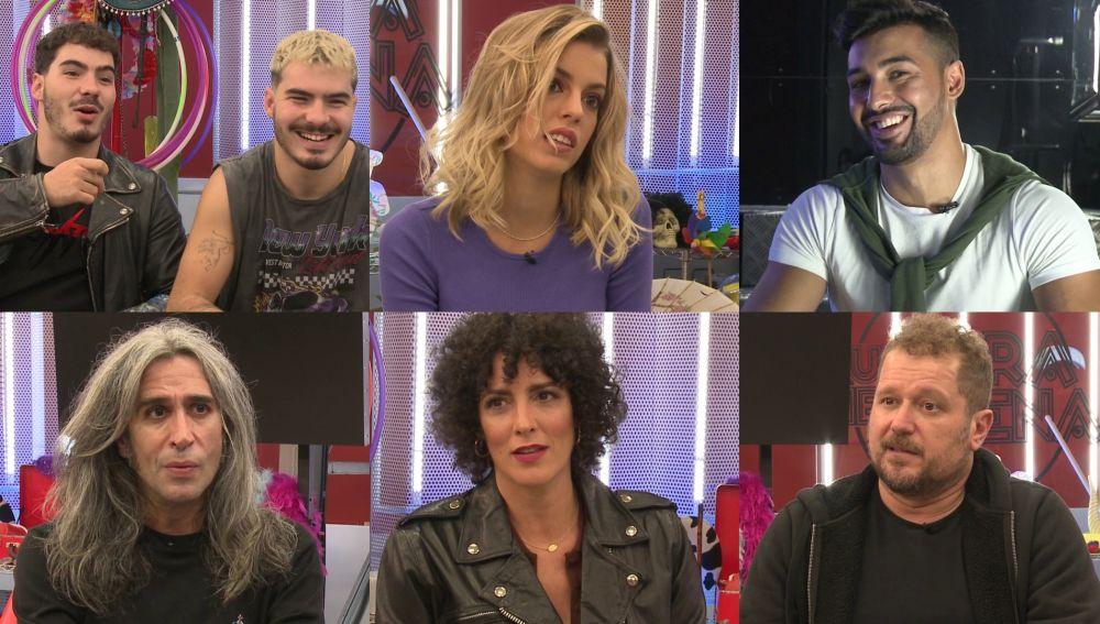 Los concursantes confiesan cómo se enfrentan a los retos de la próxima gala de 'Tu cara me suena'
