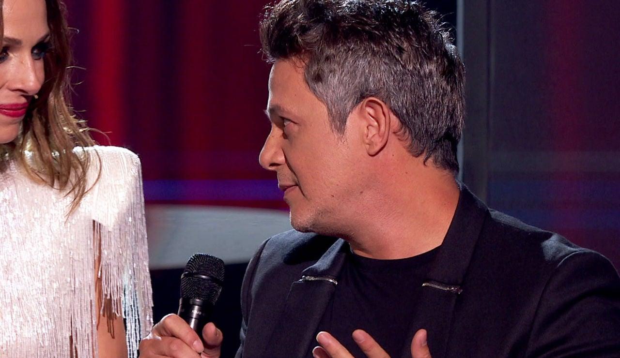El conmovedor homenaje de Alejandro Sanz a Pau Donés en 'La Voz'