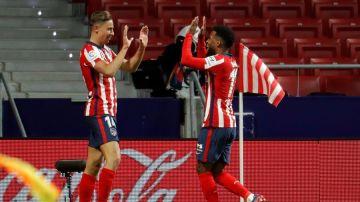 Lemar y Marcos Llorente someten al Valladolid y mantienen al Atlético invicto en LaLiga