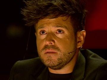 Pablo López se rompe durante actuación de Kelly en 'La Voz'