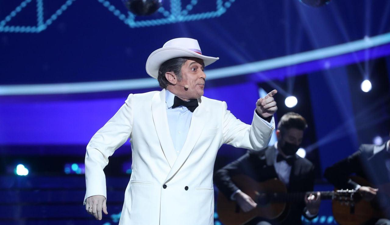 El Monaguillo le canta 'A J. R.' como Pepe da Rosa
