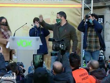 Santiago Abascal e Inés Arrimadas ausentes del acto del Día de la Constitución para hacer campaña en Cataluña