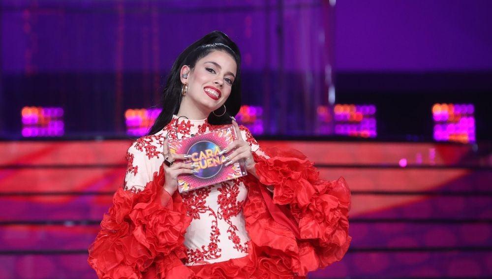 Nerea Rodríguez gana la decimotercera gala de 'Tu cara me suena' con su espectacular actuación como Rosalía
