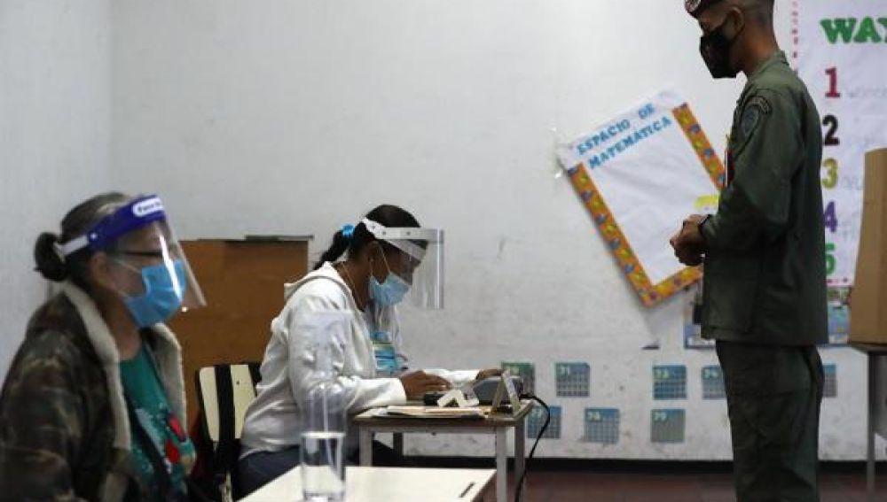 Imagen de las elecciones legislativas en Venezuela