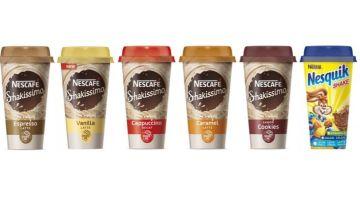 productos marca Nescafé Shakissimo y Nesquik afectados