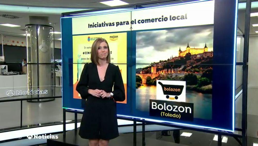 Nace en Toledo 'Bólozon', una plataforma web para comprar productos locales y ayudar a los comercios pequeños
