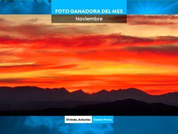 Foto ganadora del mes de noviembre. Autor: Daniel Pérez desde Oviedo.