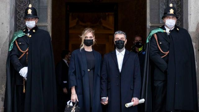 Chiara Ferragni y Fedez reciben una condecoración por su labor social