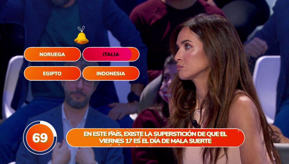 """Paula Pendres sueña con un viaje a Indonesia y termina en Italia por """"mala suerte"""""""