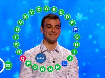 La prudencia y el buen control del tiempo de Pablo le hace ganar 'El Rosco'
