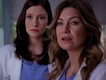 Lexie y Meredith Grey en 'Anatomía de Grey'
