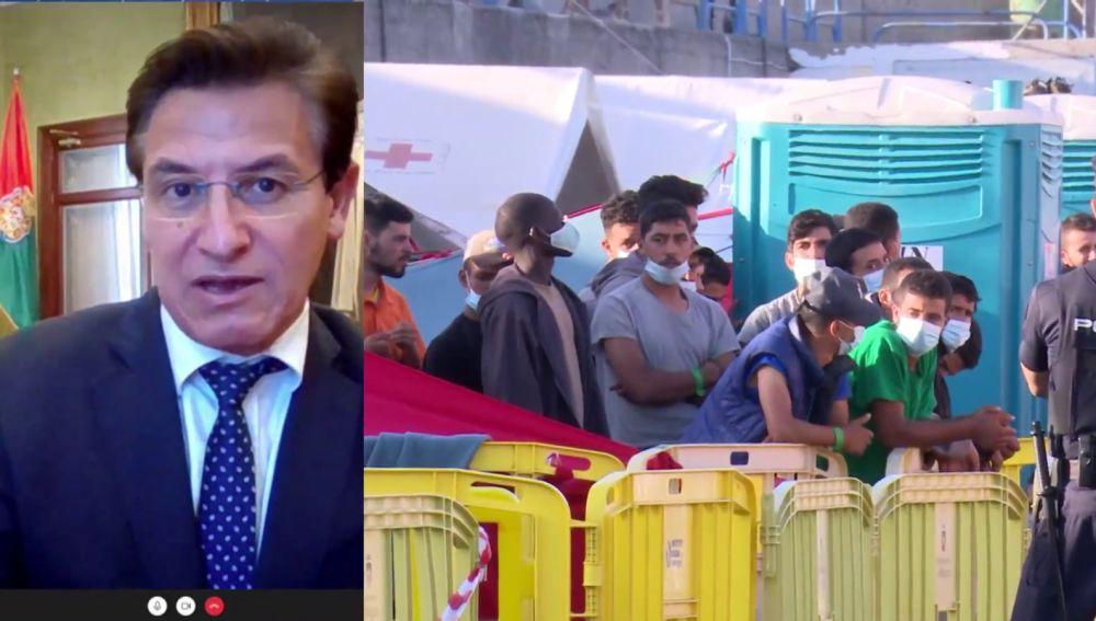 Luis Salvador, alcalde de Granada sobre la polémica llegada de 200 inmigrantes