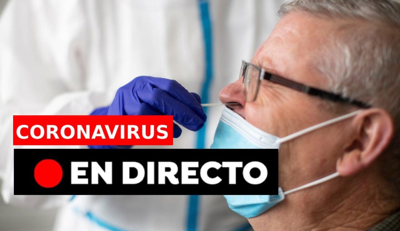 Coronavirus España. Vacuna, plan de Navidad y datos de covid, en directo