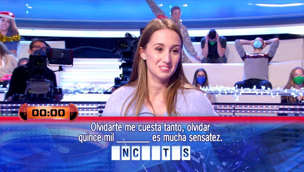 Arturo Valls flipa con la hilarante versión que Marta hace de un exitazo de Mecano en '¡Ahora caigo!'