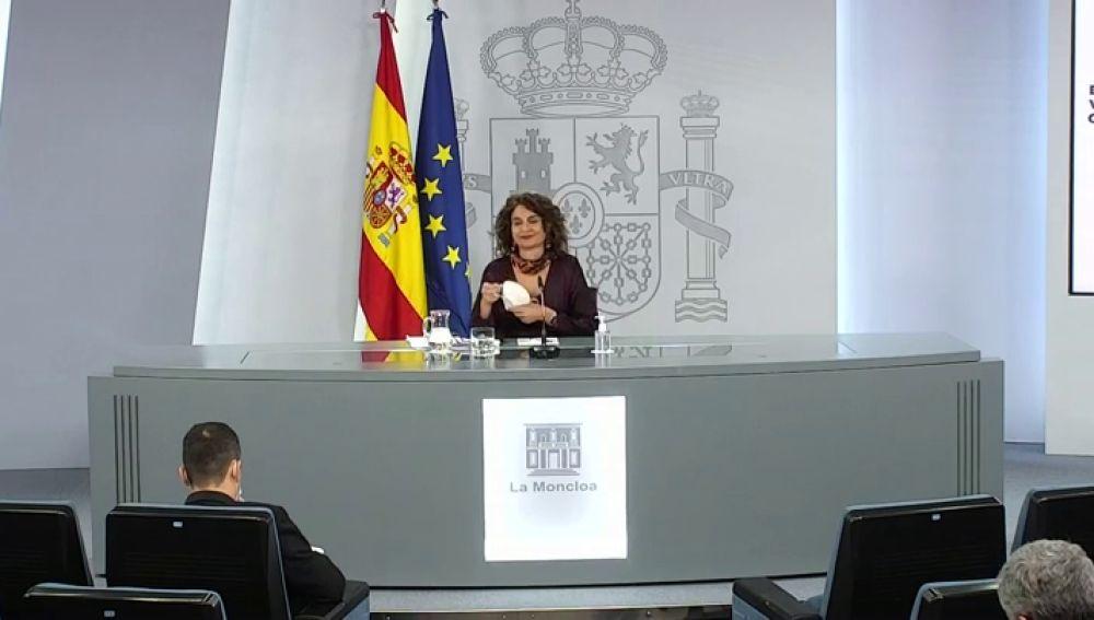 Rueda de prensa tras el Consejo de Ministros de este miércoles 9 de diciembre, streaming en directo
