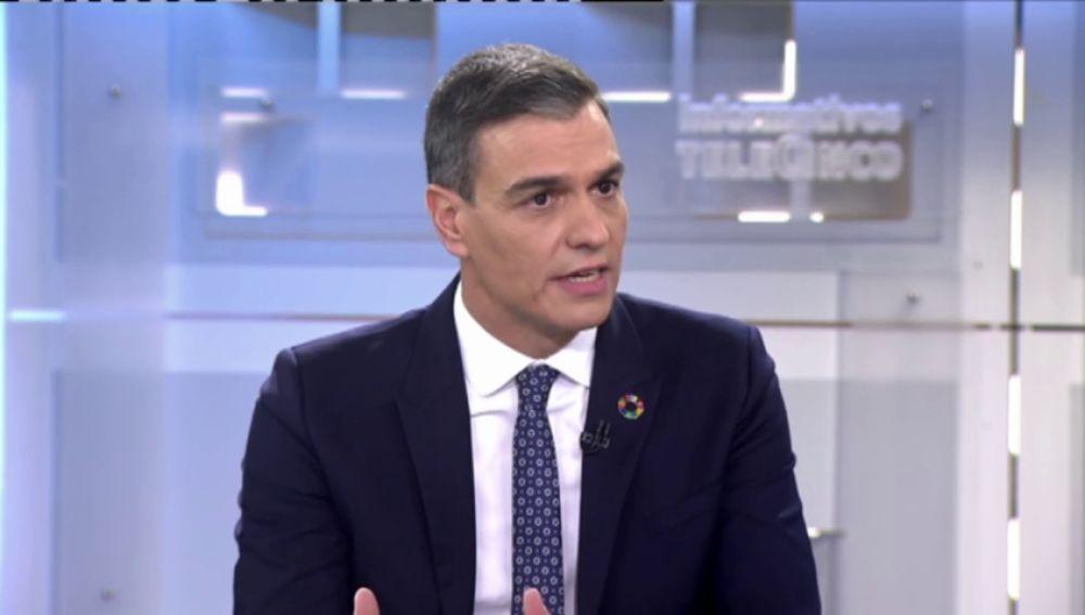 """Pedro Sánchez defiende que se llegue hasta el final en la investigación sobre el rey Juan Carlos """"respetando sus derechos"""""""