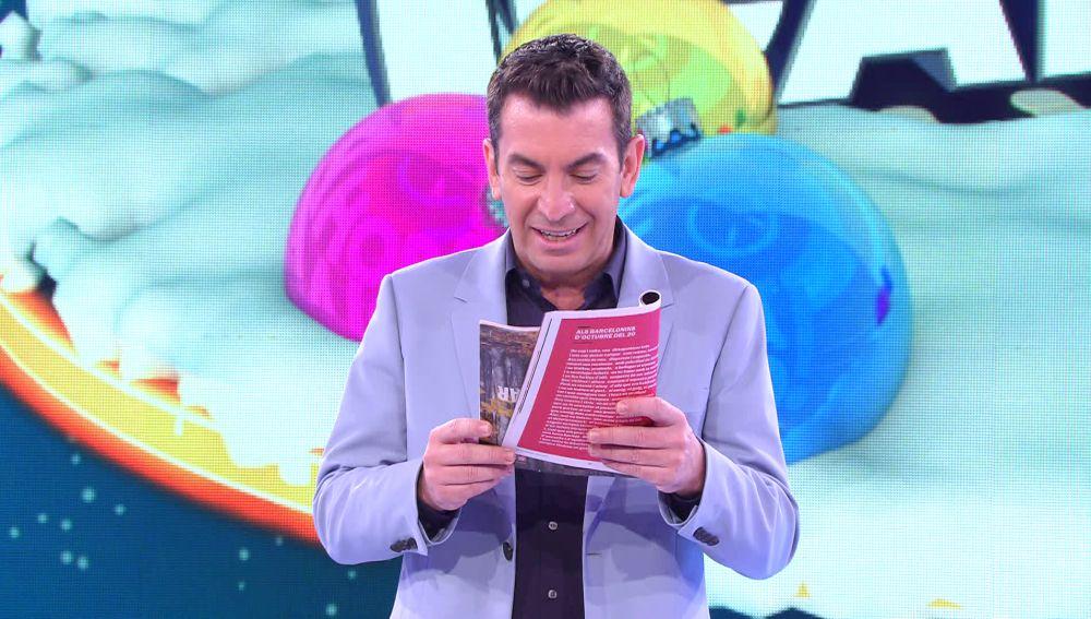 """""""¡Cómo están los astros!"""": Arturo Valls descubre lo que le depara su horóscopo"""