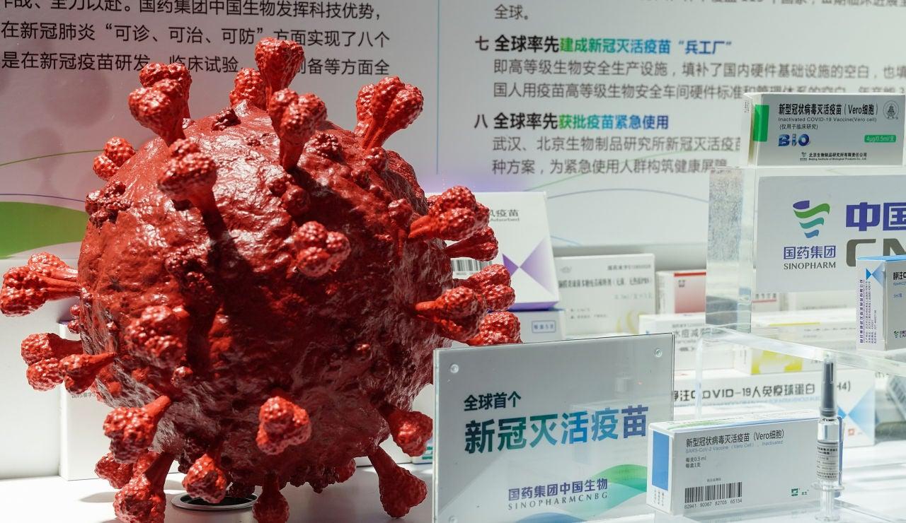 La vacuna china de Sinopharm contra el coronavirus cuenta con una eficacia del 86%