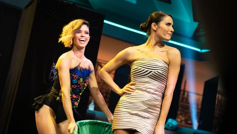 """El 'quick change' de Pilar Rubio y Lucía Rivera en 'El Hormiguero 3.0': """"¡Es magia!"""""""