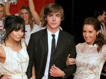 Vanessa Hudgens, Zac Efron y Ashley Tisdale de 'High School Musical'