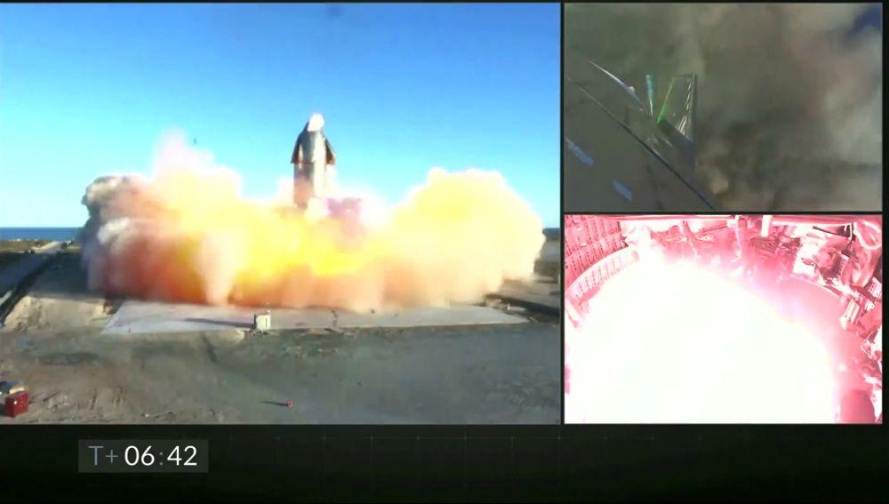 Las impactantes imágenes de la explosión del Space X