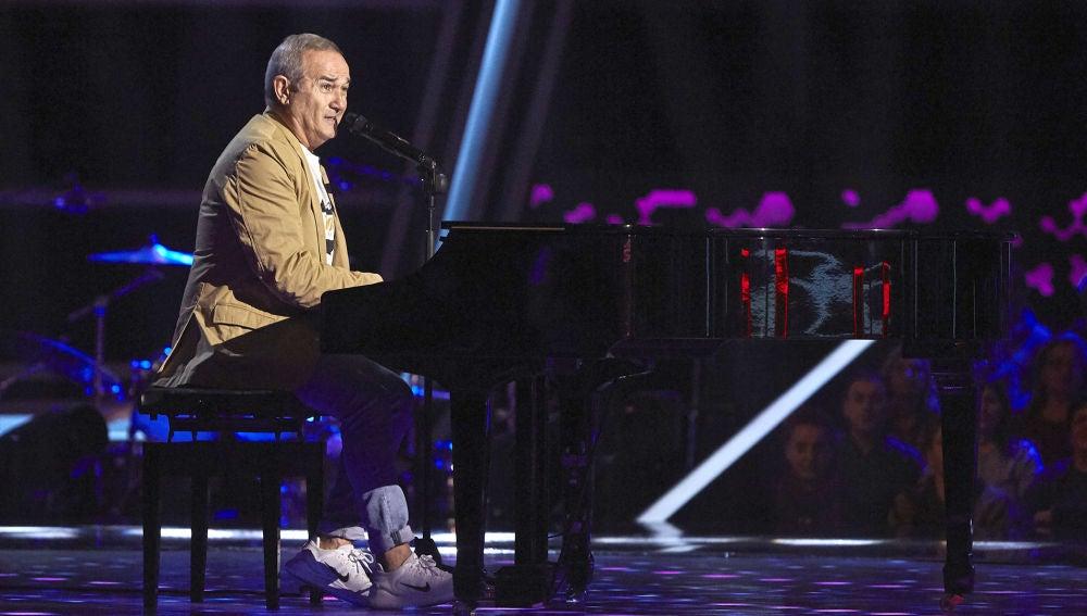 Jaime Costa canta 'Qué será' en las Audiciones a ciegas de 'La Voz Senior'