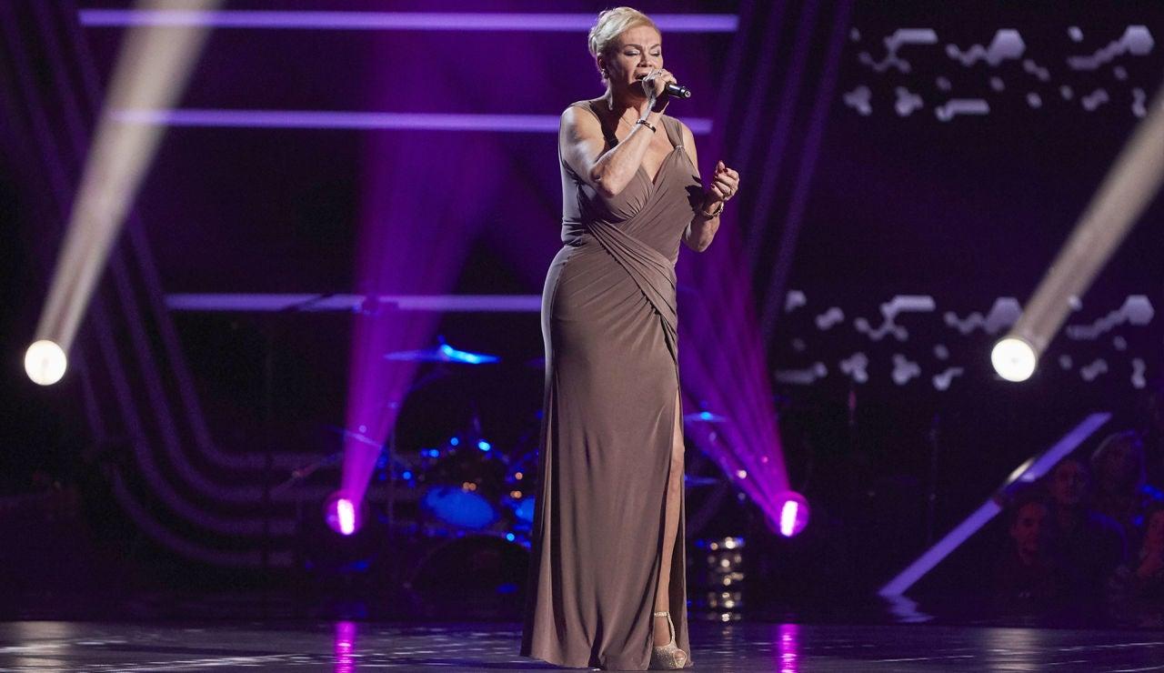 María Coral del Pozo canta 'Puro teatro' en las Audiciones a ciegas de 'La Voz Senior'