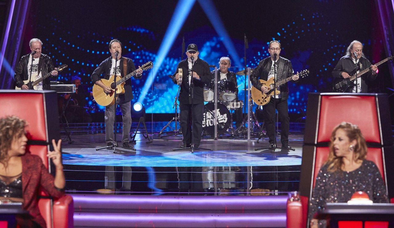 Blackstones canta 'Have you ever seen the rain?' en las Audiciones a ciegas de 'La Voz Senior'
