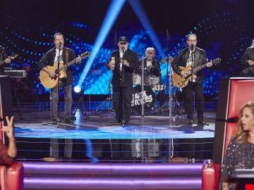 Blackstones canta 'Have you ever seen the rain?' en las Audiciones a ciegas de 'La Voz Senior'