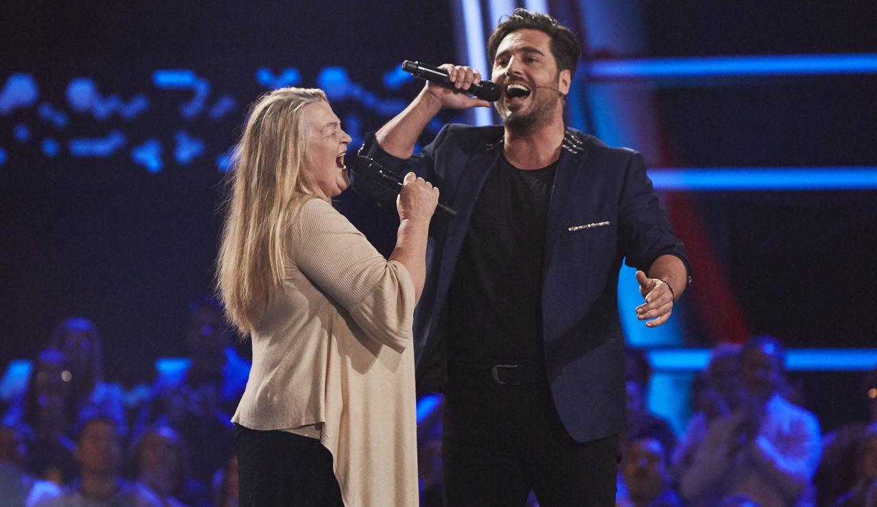 David Bustamante canta 'Nessum Dorma' con Naida Abanovich en 'La Voz Senior'