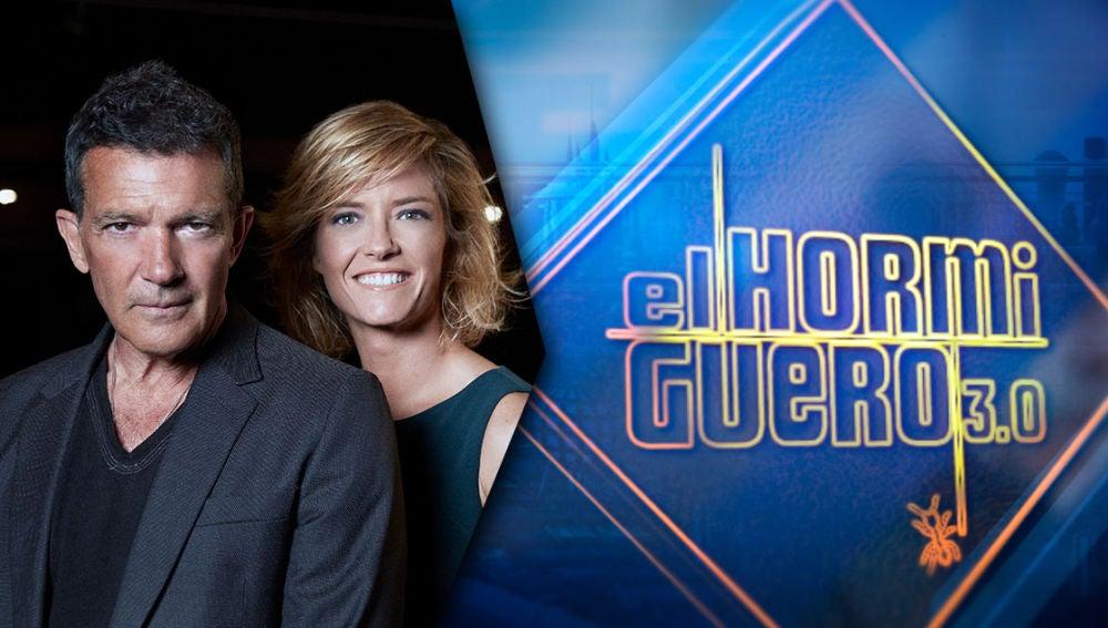 Antonio Banderas y María Casado revelan sus proyectos en 'El Hormiguero 3.0' este martes