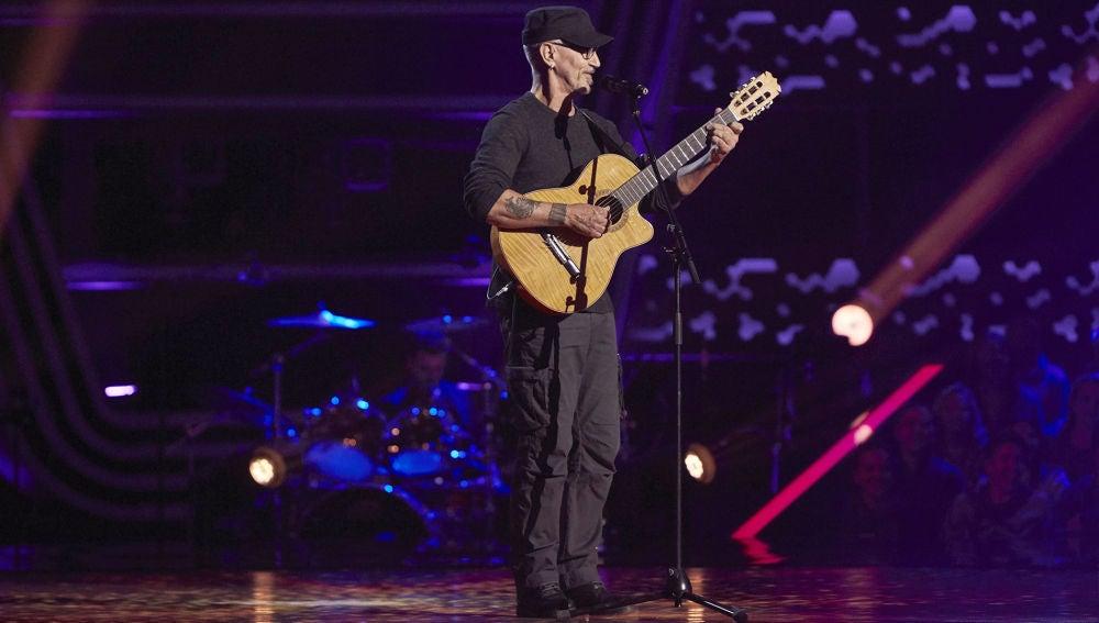 Mingo Fernández canta 'What a wonderful world' en las Audiciones a ciegas de 'La Voz Senior'