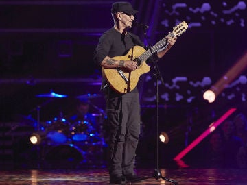Mingo Fernández canta 'What a wonderful world' en las Audiciones a ciegas de 'La Voz Senior'