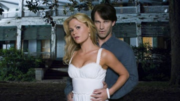Stephen Moyer y Anna Paquin en 'True Blood'