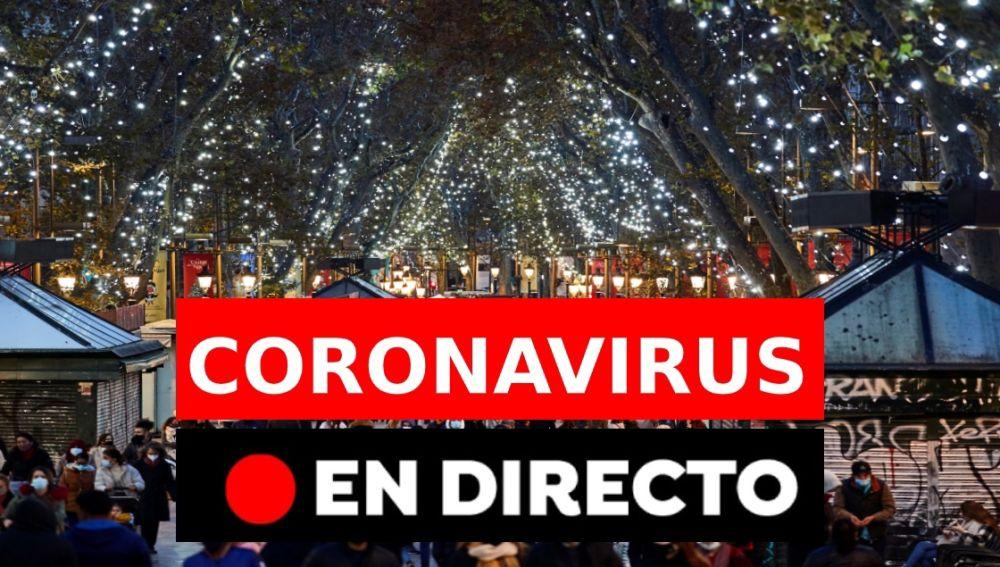 Coronavirus en España, última hora | Plan de Navidad, confinamientos y datos hoy, en directo