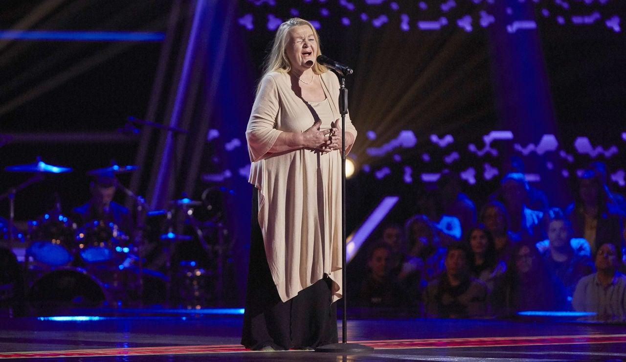 Naida Abanovich canta 'O mio babbino caro' en las Audiciones a ciegas de 'La Voz Senior'