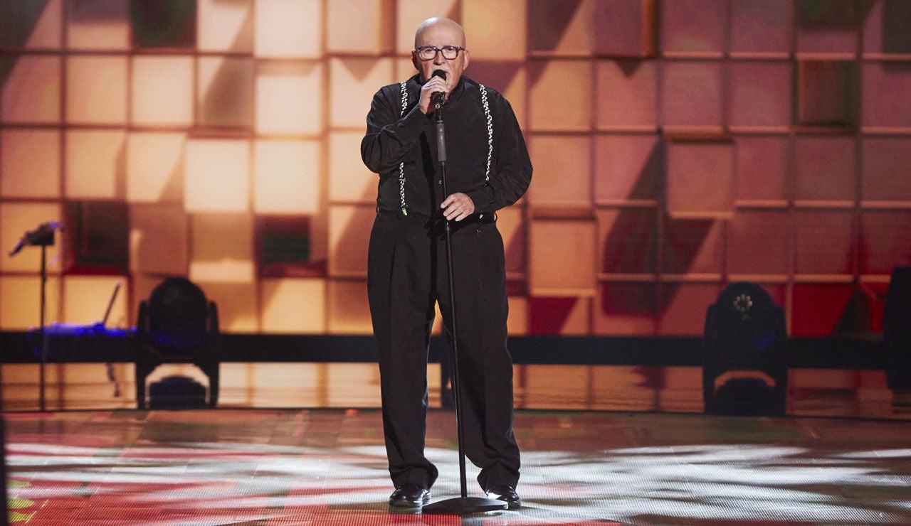 Antonio Baños canta 'Hound dog' en las Audiciones a ciegas de 'La Voz Senior'