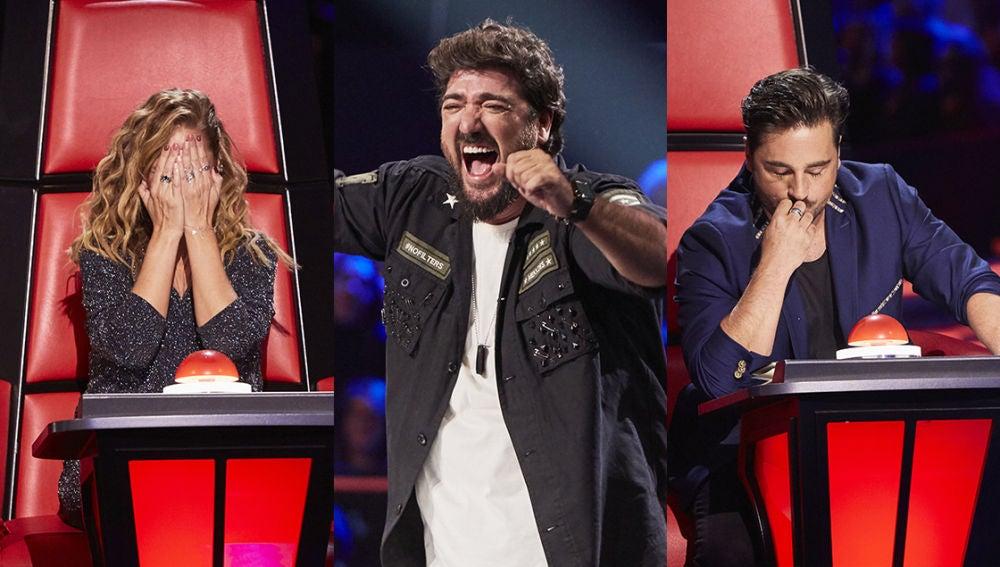 Así han sido las primeras Audiciones a ciegas de 'La Voz Senior': buena energía, lágrimas y arrepentimiento de los coaches