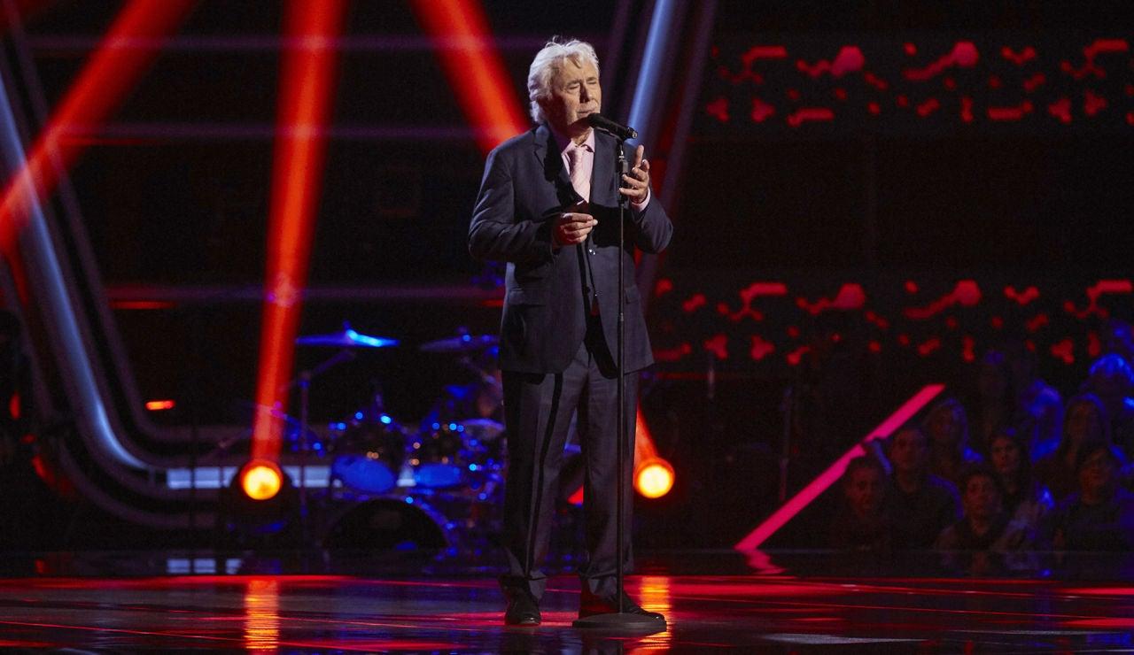 Andrés Caparrós canta 'Antonio Vargas Heredia' en las Audiciones a ciegas de 'La Voz Senior'