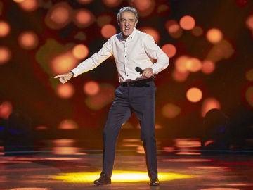 Goyo Suárez canta 'Vivir así es morir de amor' en las Audiciones a ciegas de 'La Voz Senior'