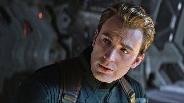 Chris Evans como Capitán América en 'Vengadores: Endgame'