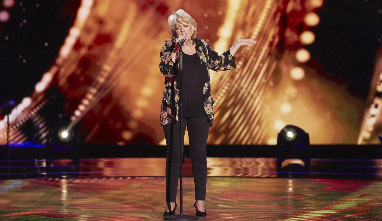 Pepa Chacón canta 'Cómo han pasado los años' en las Audiciones a ciegas de 'La Voz Senior'