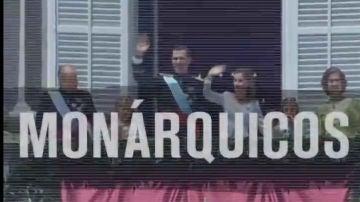 Captura de pantalla del vídeo de Podemos sobre la monarquía en su cuenta oficial de Twitter