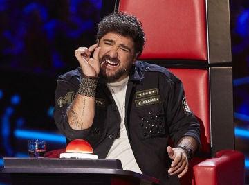 Antonio Orozco en 'La Voz Senior'