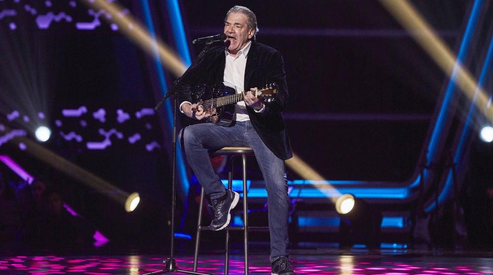 Carlos Yébenes canta 'Got you on my mind' en las Audiciones a ciegas de 'La Voz Senior'