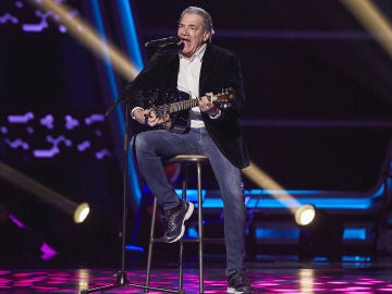 Carlos Yébenes canta 'Got you on my mind' en las Audiciones a ciegas de 'La Voz Senior'